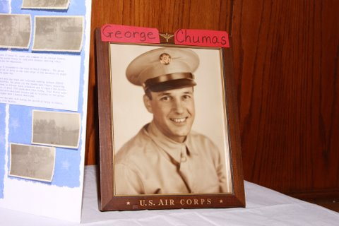 Lt. George Chumas, Greek OG, Group 6